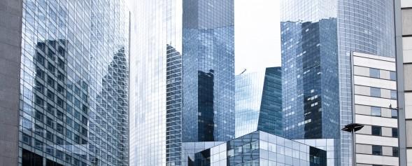 Immeuble de verre